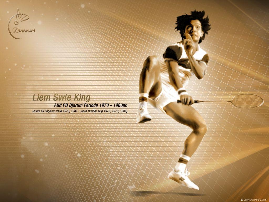Lim Swie King, pioner PB Djarum 1970-1980. Peraih juara All England dan Thomas Cup