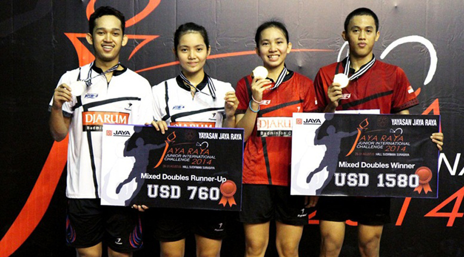 Jeka, Gischa (Runner up) dan Mychelle, Tedi (Juara)