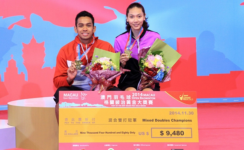 Edi/Gloria juara Macau Open Grand Prix Gold 2014