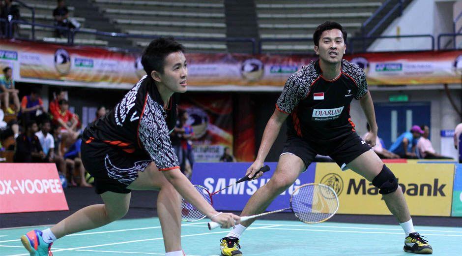 [Vietnam Open Grand Prix 2014] Rijal/Vita Tempati unggulan Pertama