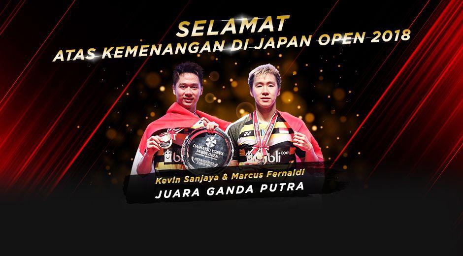 congrats japan open 2018