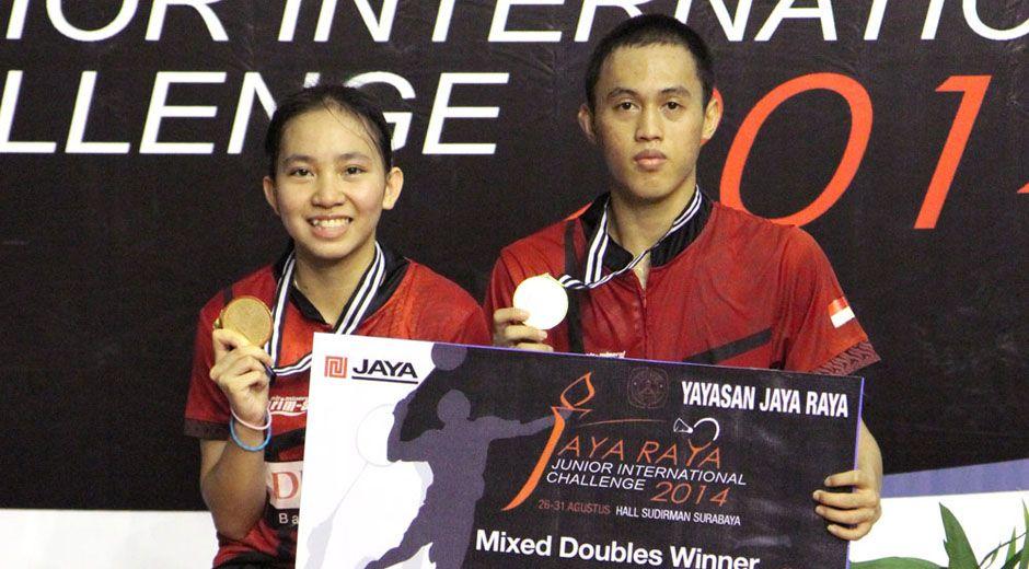 [Indonesia Junior International Challenge 2014] Tedi/Mychelle Meraih Gelar Juara