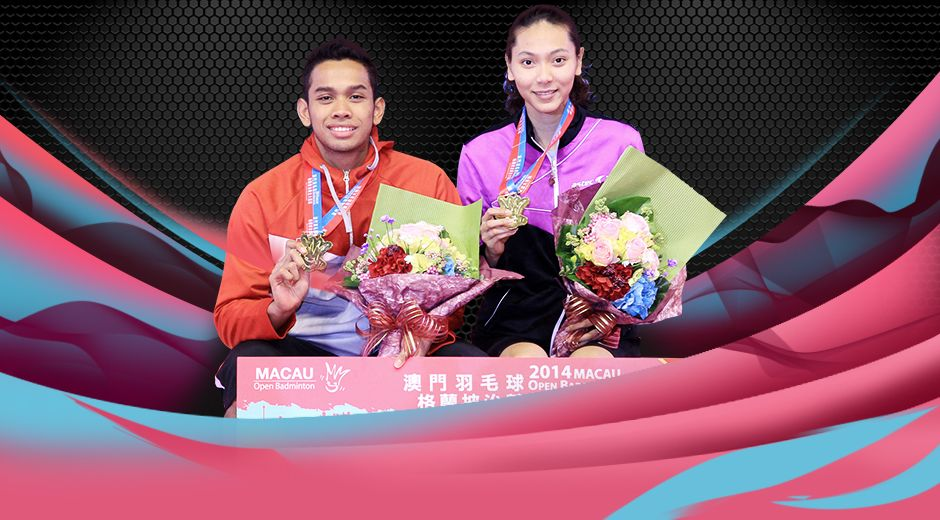 Selamat atas prestasi Ganda Campuran Edi Subaktiar / Gloria Emanuelle W. di Macau Grand Prix Gold 2014