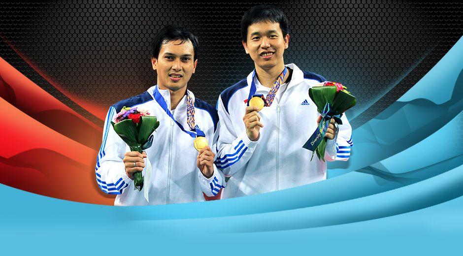 Selamat kepada Mohammad Ahsan/Hendra Setiawan yang berhasil meraih Medali Emas di Asian Games 2014