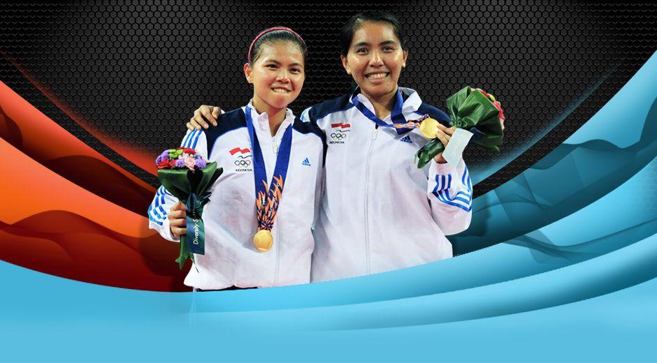 Selamat kepada Greysia Polii/Nitya Krishinda Maheswari yang berhasil menjadi Juara Ganda Putri pada Asian Games 2014